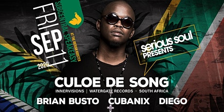 CULOE DE SONG (INNERVISIONS | SOUTH AFRICA) in THE BASEMENT tickets