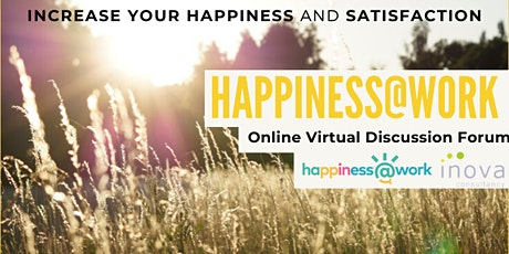 Happiness@Work Virtual Discussion Forum tickets