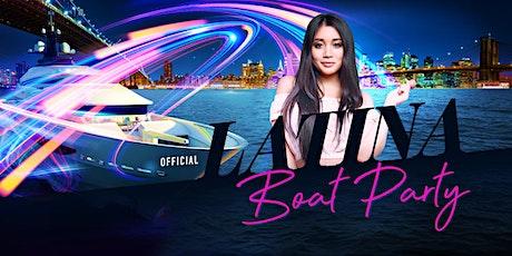 NYC #1 Official LATINA Boat Party Manhattan Yacht Cruise: Fiesta Night Sundays tickets