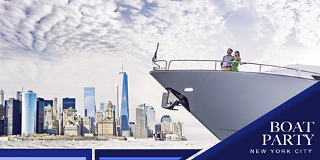 NYC #1 Statue of Liberty Yacht Cruise Manhattan Boat Party: Sunday Night Sightseeing tickets