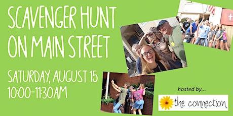 Scavenger Hunt on Main Street tickets