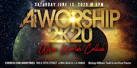 """A.W.E. 2K20 """"When Worlds Collide"""" AiWorship and Glad II tickets"""
