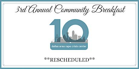 3rd Annual Community Breakfast tickets