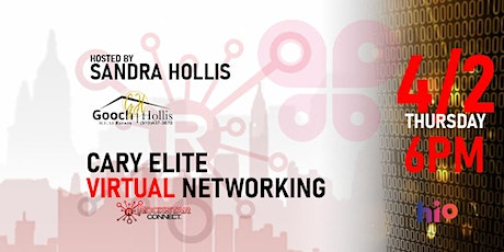 Free Cary Elite Rockstar Connect Networking Event (April, near Raleigh) tickets