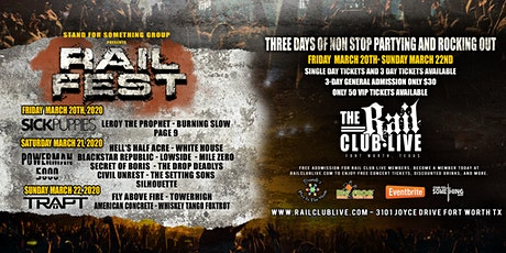 Rail Fest Four Day Festival tickets