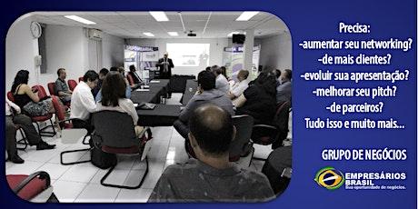 Contribuição mensal - Grupo de negócios - Empresários Brasil ingressos
