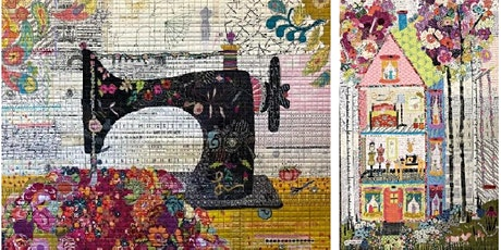 Laura Heine Collage Quilt learn w/ Zelma Reid March 30 - April 2, 2021 tickets