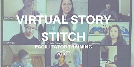 Virtual Story Stitch Facilitator Training tickets