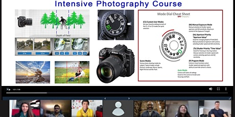 Intensive Online Photography Course tickets