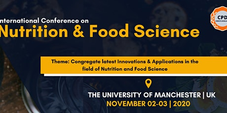 International Conference on Nutrition and Food Science tickets