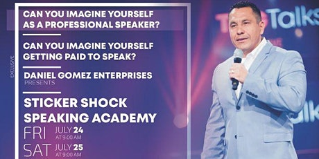 STICKER SHOCK SPEAKING ACADEMY - SPEAKING YOUR WAY TO SUCCESS tickets
