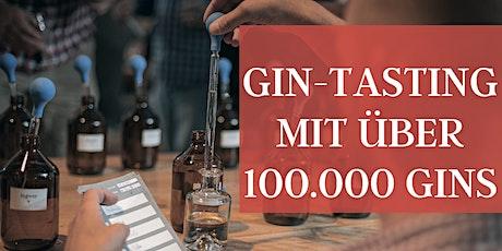 DAS Gin-Tasting mit über 100.000 Gins - inkl. 1 Flasche Tickets