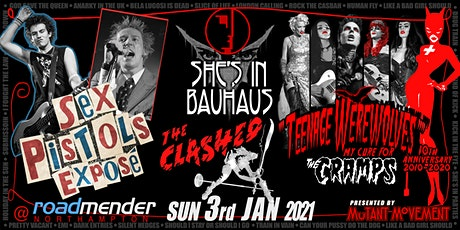 Teenage Werewolves(Cramps)Sex Pistols Exp/ShesInBauhaus/Clashed NORTHAMPTON tickets