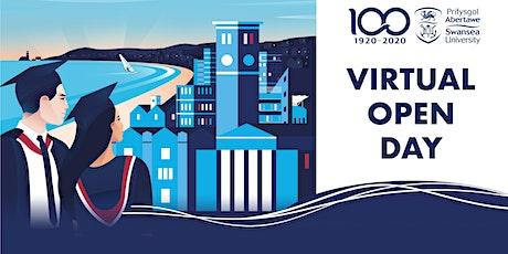 Undergraduate Virtual Open Day Saturday 4th April 2020 tickets