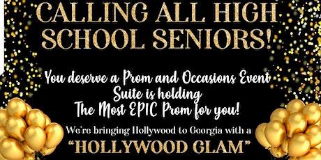 Hollywood Glam High School Senior Prom tickets