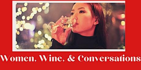 Women, Wine, Conversations  Virtual Happy Hour entradas