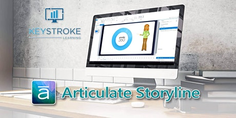 Live Online - Articulate Storyline Quizzes and Simulations Workshop tickets