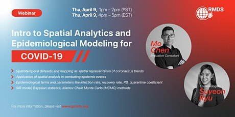 Intro to Spatial Analytics and Epidemiological Modeling for COVID-19 tickets