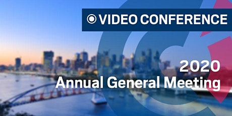 QLD | Online 2020 Annual General Meeting tickets