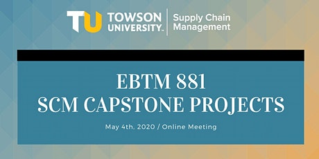 Spring 2020 Capstone Projects - Online Meeting tickets