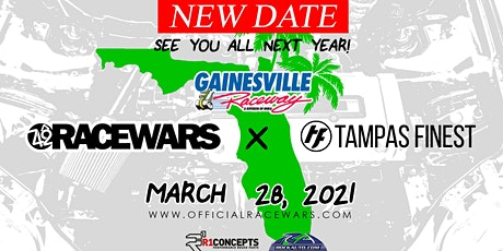 RACEWARS USA x TAMPAS FINEST 2020 - GAINESVILLE, FL tickets