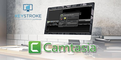 Live Online - TechSmith Camtasia Introduction Workshop tickets