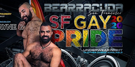 Bearracuda SF Underwear Party! tickets