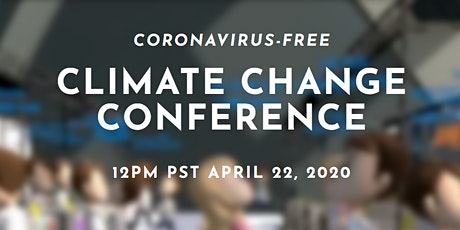 Coronavirus-free Climate Change Conference tickets