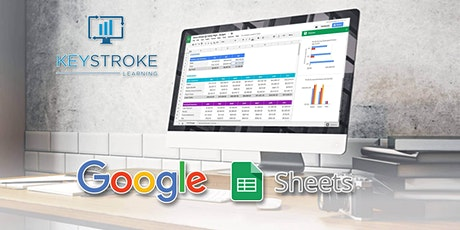 Live Online - Google Sheets Introduction tickets