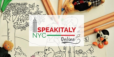 Italian Art and Craft  for Kids (1-3) / Tue 11AM or Sat 4:30PM tickets