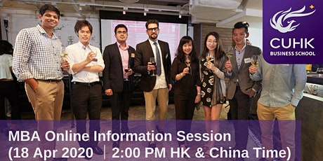 CUHK MBA Online Information Session (Greater China) tickets