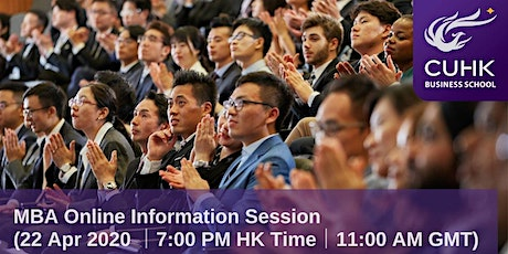 CUHK MBA Online Information Session (Worldwide) tickets