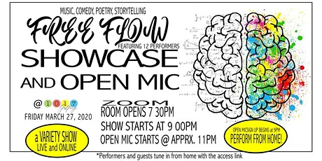 Free Flow Showcase & Open Mic tickets