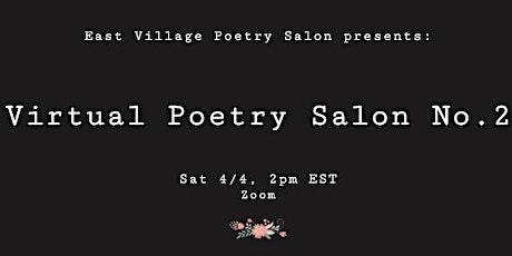 Virtual Poetry Salon 2 tickets