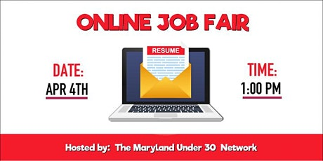 ONLINE JOB FAIR | FOR LOCAL DMV PROFESSIONALS ONLY!!! tickets