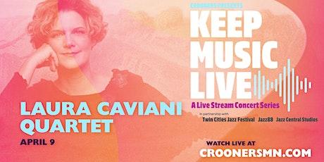 POSTPONED: Laura Caviani Quartet: Tableaux tickets