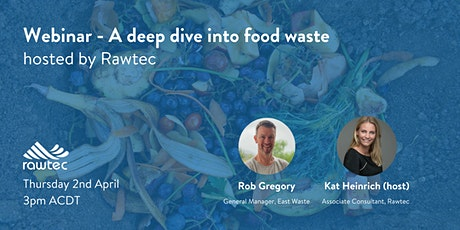 A deep dive into household food waste with Rob Gregory tickets