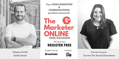 Grill The Marketer ONLINE | Live Crisis Marketing Discussion tickets