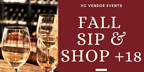 Sip & Shop  +18 tickets