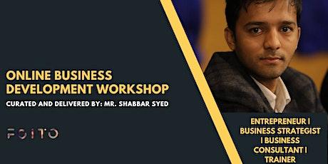 [ Online] Business Development Training for Startups tickets