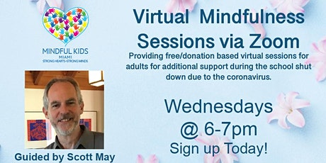 Mindful Kids Miami - Virtual Mindfulness Sessions with Scott tickets