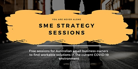 COVID-19, SME Strategy Sessions tickets