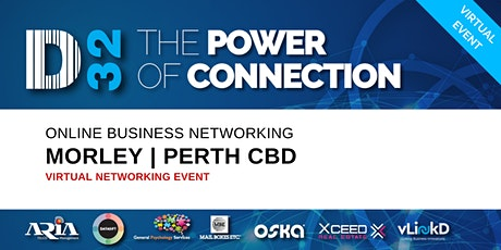 District32 Business Networking Perth – Morley / Perth CBD - Wed 22nd Apr tickets