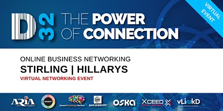 District32 Business Networking Perth – Stirling / Hillarys - Tue 28th Apr tickets