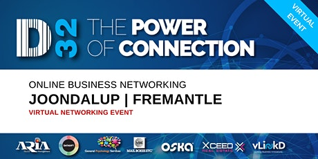 District32 Business Networking Perth – Joondalup / Fremantle - Wed 29th Apr tickets