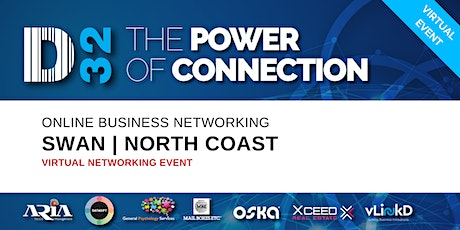 District32 Business Networking Perth – Swan / North Coast - Fri 01st May tickets