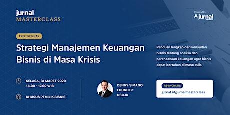 [WEBINAR] Strategi Manajemen Keuangan Bisnis di Masa Krisis tickets