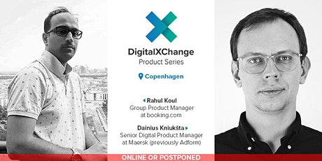 DigitalXChange Product Series Copenhagen - booking.com & Maersk Digital tickets