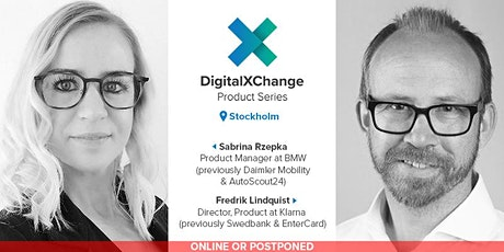 DigitalXChange Product Series Stockholm - BMW & Klarna tickets
