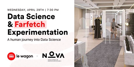 [Webinar] A Human Journey into Data Science with Farfetch Experimentation bilhetes